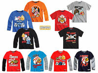 Boys Official ANGRY BIRDS STAR WARS Top T-Shirt  4 5 6 7 8 9 10 11 12 13 Yrs NWT