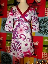 NEW LOOK ROBE POP COL PAMPILLES LACEE  TUK 8 OU 38/40
