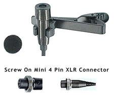 Pro Lapel Lavalier Mic for Peavey Mipro Beyer Wireless