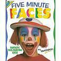Five Minute Faces Face Painting Instruction Book Guide