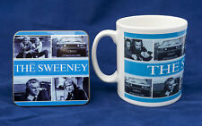 THE SWEENEY Mug & Coaster Set #1 - Regan Carter Thaw Waterman UK TV Flying Squad