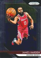 2018-19 Panini Prizm Basketball #34 James Harden Houston Rockets
