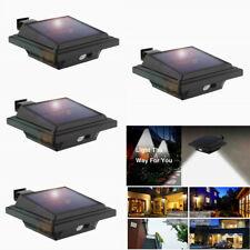 4 Pack 25Led Solar Motion Sensor Lamp Outdoor Wall Lamp Cool Light Waterproof