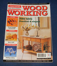 PRACTICAL WOOD WORKING 14TH AUGUST - 10TH SEPTEMBER 1998 - SIDE TABLE