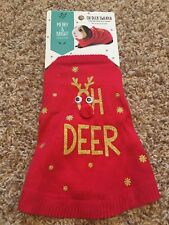 Guinea Pig/Small Animal Costume/Clothes*Oh Deer Reindeer Ugly Sweater*Holiday