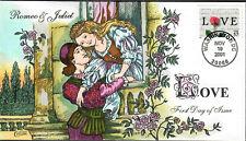 US Collins FDC Sc#3551 Romeo & Juliet