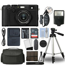 Fujifilm X100F 24.3MP Digital Camera Full HD Wi-Fi Black + 32GB Bundle