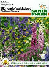 Blühende Waldwiese - Wildblumen für Halbschatten und Schatten - Blumen Samen