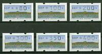 Bund ATM 2.1.1 VS 1 postfrisch Automatenmarken BRD 1993 alle 6 Werte SANSSOUCI