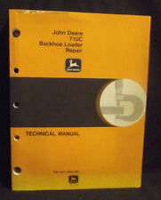 JOHN DEERE JD Technical Manual TM-1451, 710C Backhoe Loader Repair 1988 ORIGINAL