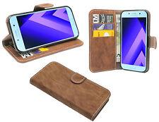 Zubehör Brief Tasche-Form Etui für Samsung Galaxy A3 2017 ( A320F ) // Braun