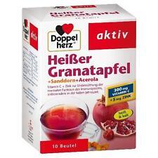 DOPPELHERZ heißer Granatapfel+Sanddorn+Acerola 10 St