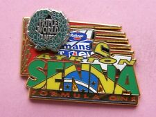 pin's AYRTON SENNA FORMULA ONE n°010/400 -  signé EUROBAGES PARIS , automobile