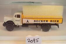 Brekina 1/87 MERCEDES BENZ l311 CAMION Becker birra St. Ingbert OVP #2095