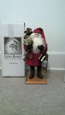 Lynn Haney Collection Storytime Santa #1197 NEW in Box 1997 Lubbock Texas 18""