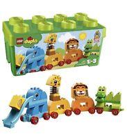 LEGO 10863 Duplo My First Animal Zoo Train And Brick Storage Box Building Set