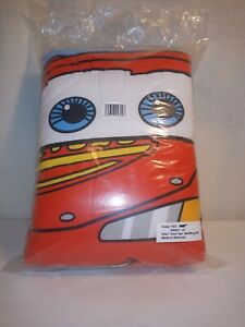 Disney Cars 4 Pc Toddler Bedding - Lightning McQueen New!