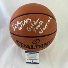 Rick Welts signed Basketball BAS Beckett Golden State Warriors autographed HOF 2