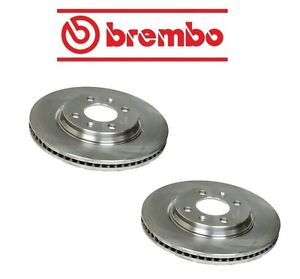 For Saab 900 9000 Front Set of Left & Right Disc Brake Rotor Brembo 8970709