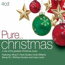 PURE... CHRISTMAS (2011) 68-track 4-CD digipak NEW/SEALED Wham! Frank Sinatra