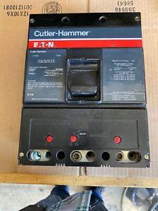 CUTLER-HAMMER EATON CIRCUIT BREAKER TYPE LS 360600A 600 AMP  3 POLE W/ 600A TRIP