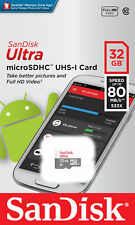 SanDisk Micro SD Card 32GB TF SDHC Class 10 Mobile Smart Phone Tablet Memory
