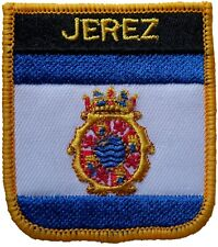 Jerez Spain Shield Embroidered Patch