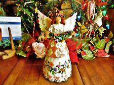 "1 Jim Shore Heartwood Creek Angel Of Gratefulness Figurine 2002 No Box 10""H"