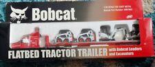Bobcat Flatbed w/ S175 & 325 - Wan Ho 6901963 Diecast 1:50 Scale Model Toy NIP