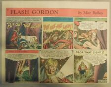 Flash Gordon Sunday Page by Mac Raboy from 12/13/1953 Half Page Size