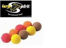 Billes flottantes assorties Carp Spirit 15mm par 6