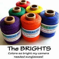 Waxed Thread - Brights Basketry, Leather Craft, Gourd Art, Dreamweavers, Jewelry