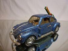 POLSTIL S15  VW VOLKSWAGEN BEETLE SKI - BLUE 1:25 - GOOD CONDITION