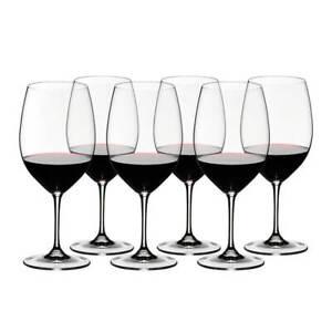 Riedel Vinum 265 Year Anniversary Cabernet Sauvignon Wine Glass Set Of 6