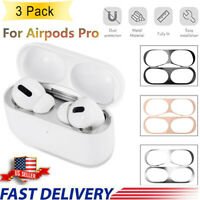 Mental Dust Guard Sticker For AirPods Pro Case Dust Proof Film Protective Cover