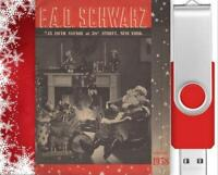 Vintage 1938 FAO Schwarz Christmas Catalog On USB Drive Great For Toy Collectors