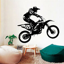 New Kids Room Wall Sticker Racing Motorcycle Vinyl Wall Decal Home Decoration