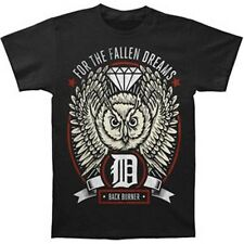 FOR THE FALLEN DREAMS - Owl:T-shirt - NEW - SMALL ONLY