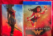 Wonder Woman Exclusive Limited Ed Blu-ray Steelbook + Bonus Marvel Art Cards