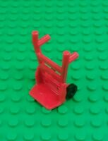 *NEW* Lego Red Trolley Cart Removalist Minifigures Figures Figs x 1 piece