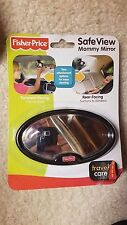 Fisher Price Safe View Mommy Mirror Travel Care Baby