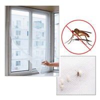 Mesh Door Magic Curtain Magnetic Snap Fly Bug Insect Mosquito Screen Net White