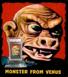 1964 A&BC Outer Limits MONSTER FROM VENUS #12 NEAR MINT 7 - Vintage garno PSA