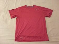 Mens Nike Shirt L Large Red Athletic