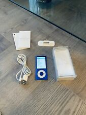 Apple iPod nano 5th Generation Blue (8GB) MINT  Unmarked Condition Boxed.