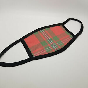 Clan MacGregor Tartan Face Mask Scottish Family Plaid Covering Faded Mask