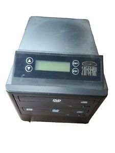 ZipSpin DVD and CD Duplicator D-121-L -SC-121-PRO- Fully Functional