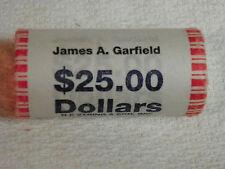 2011 D James A. Garfield Presidential Dollars 25 Per Roll Uncirculated