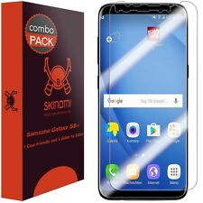 Skinomi (2-Pak) Screen Protector Case Friendly & Edge To Edge Samsung Galaxy S8+