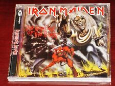 Iron Maiden: The Number Of The Beast CD ECD 1998 Remaster Castle RAW CD 129 CRC